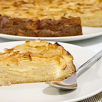 Read more : Apple cake and 'Scandale' tea