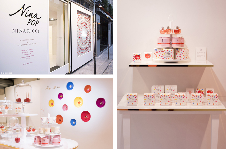 The 'Nina pop-up store' in Paris